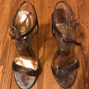 Copper dress sandles